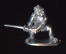 Dixons 25mm/28mm Fantasy Legends of Nippon: BG3 Goblin wielding Sword